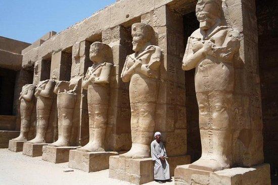 乘坐飛機從開羅出發的盧克索全日遊