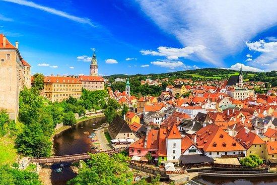 Resan till Cesky Krumlov från Prag