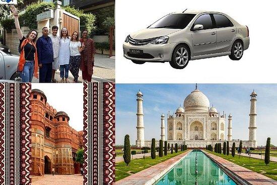 Circuit privé à Agra - Fort du Taj...