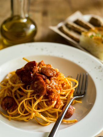 Spaghetti with Italian Sausages & Chilli