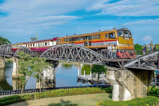 Visite d'une journée de Kanchanaburi et le pont sur la rivière Kwai