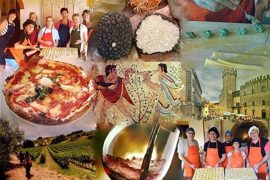 Tours de culinária italiana e trufa...