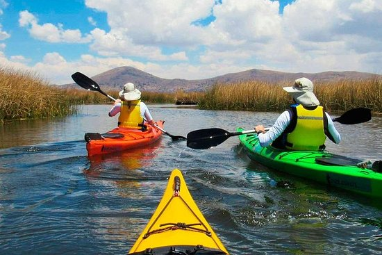 Sea Kayac til Uros og Taquile Island...