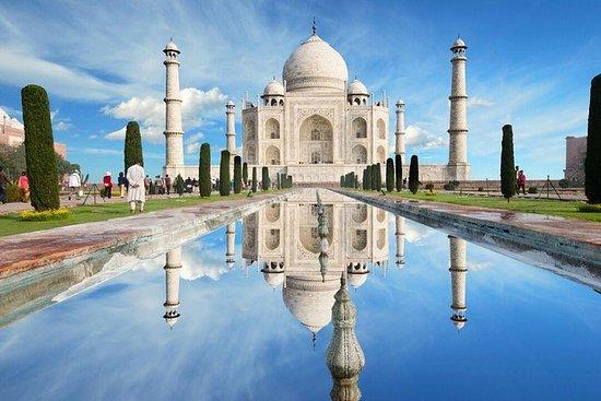 Luxury Taj Mahal and Agra Tour From...