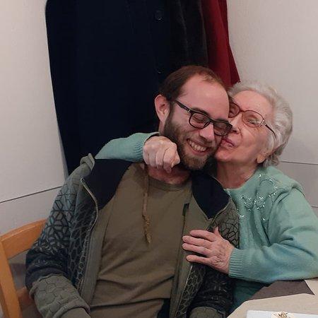 Silvano d'Orba, Italië: pranzo di natale in famiglia