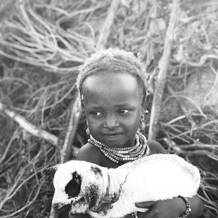 Dassanech Girl Omo valley Ethiopia
