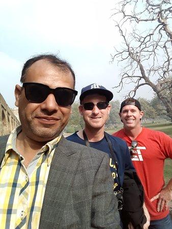 Shahid leading us through Pakistan