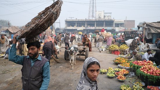 Lahore Fruit and Vegetable Market