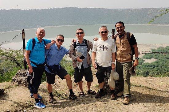 Tour giornaliero al cratere Lonar