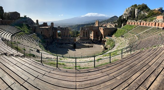 Ticket to the Taormina Theater: Main Area