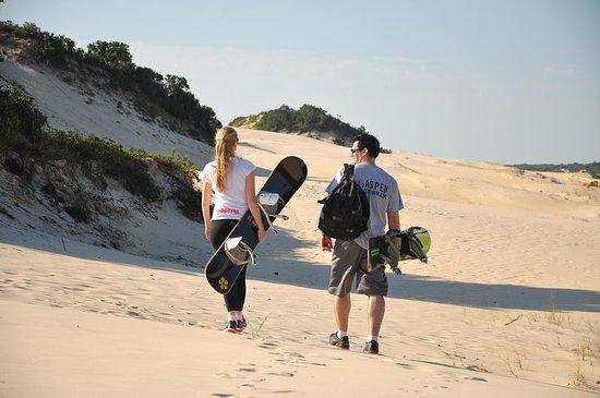 Sandboard Experience by Adrenailha
