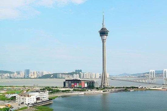 香港から片道フェリーで行くマカオ一日観光ツアー