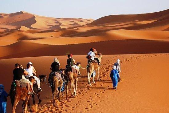 マラケシュからフェズへ-3日間の砂漠ツアー