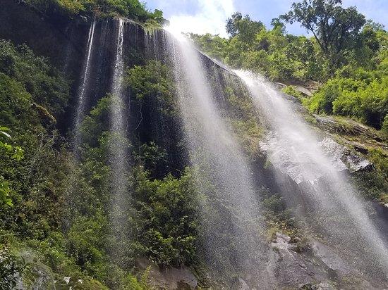 Wasserfall La Chorrera de Choachí...