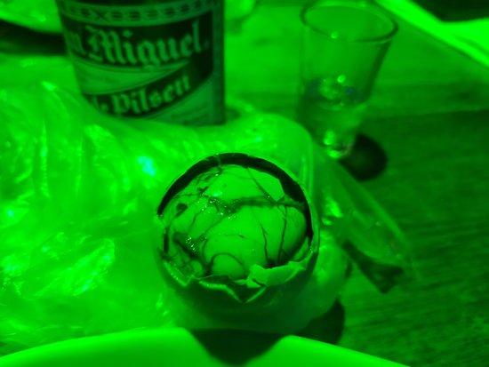 Balut at the bar