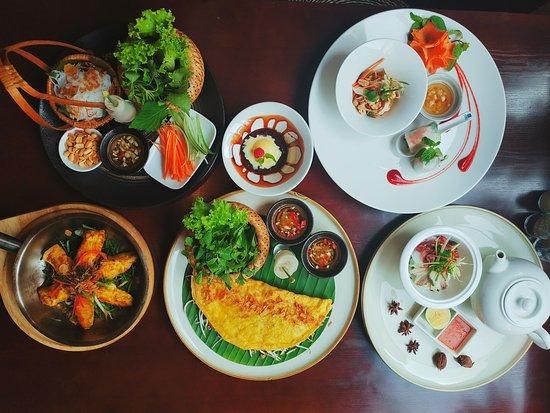 Orchid Restaurant & Cooking Class: Vietnamese Menu 350.000 NET