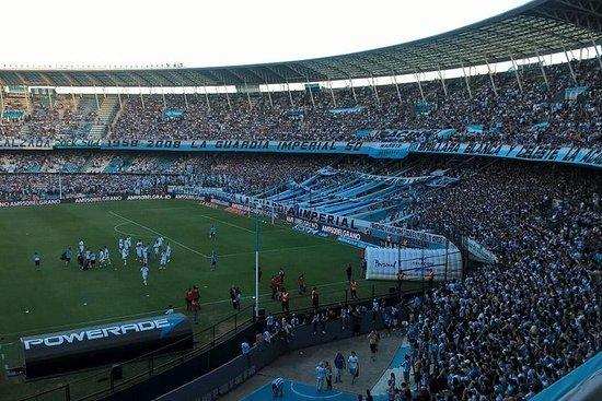 Football Stadiums Tour Racing Club matches as a local Superliga...