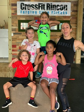 Fit Kids class (ages 4-7 and 8-11)