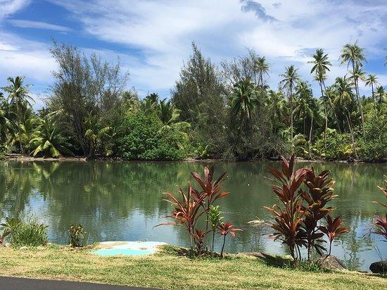 Хуахине, Французская Полинезия: Huahine Archipel de la Société, Polynésie française  Pièges à poissons de Fa'Una Nui
