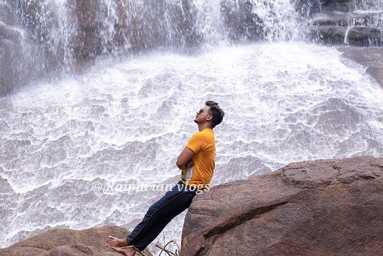 kuyemari waterfall keshkal