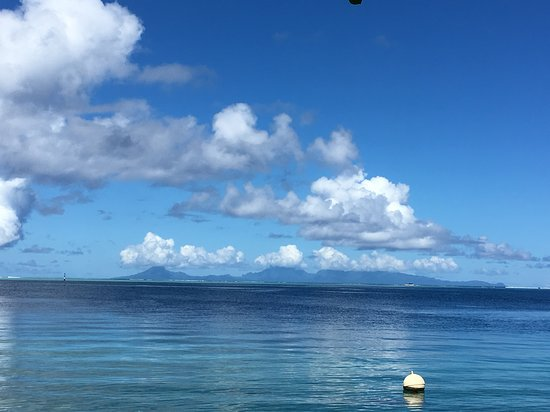 Fare, in Huahine, FP Huahine, Polynésie française