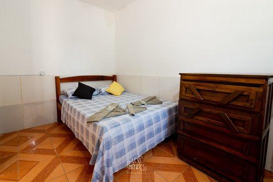 Itacare, BA: Quarto com cama de casal
