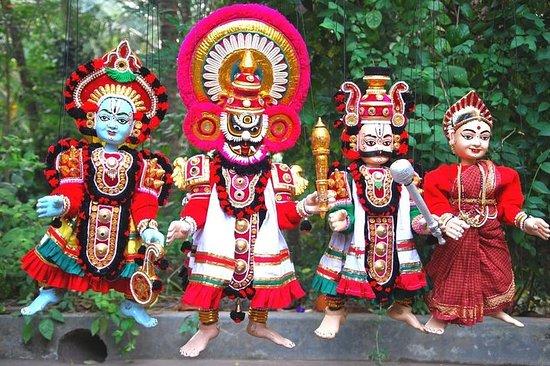 Saltafila: biglietto per burattini Yakshagana