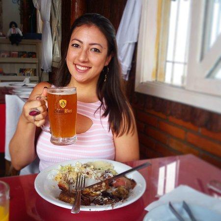Não deixem de experimentar o chopp Gran Bier! Excelente!