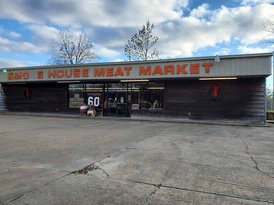 Winnfield, Louisiane: Smokehouse & Meat Market