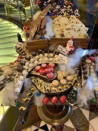 Beautifully displayed treats