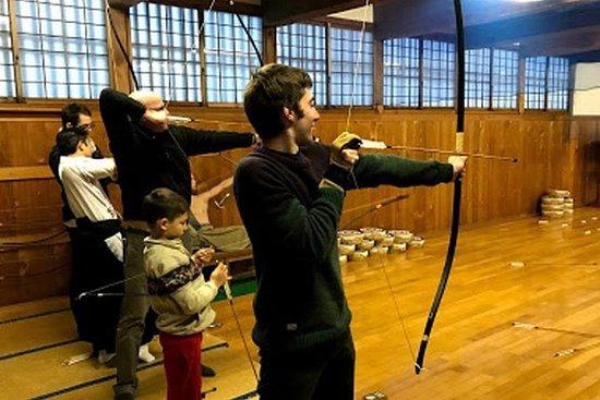 """Samurai training program at Samurai School """"Nisshinkan"""""""