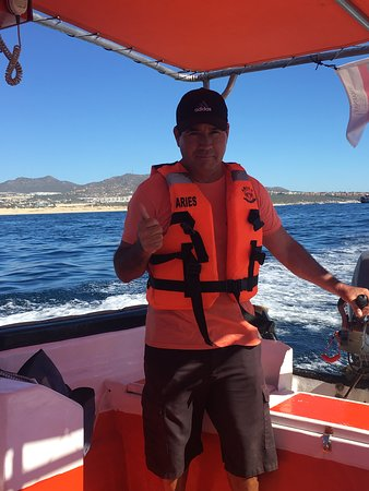 Meet Paco - he will show you all the beautiful sites on our glass bottom boat tour.