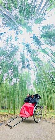 Kyoto Arashiyama Rickshaw Tour with Bamboo Forest: Amazing photo