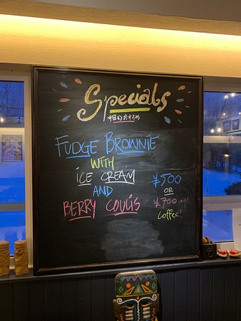 Weekly and Daily Specials.  Food & Drinks.   Ask our Staff!