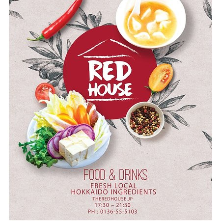 The RED HOUSE Rusutsu. Great food and Drinks.
