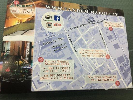 Via Sedile Di Porto 23.Biglietto Retro Picture Of Tandem Sedile Di Porto Naples Tripadvisor