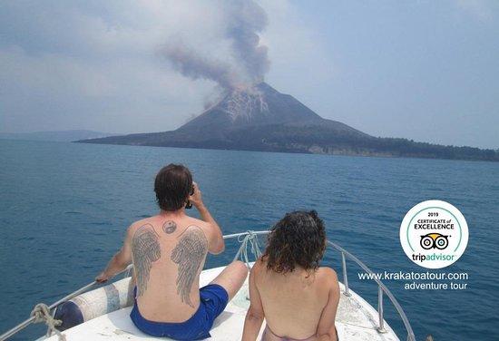 Java, Indonesië: Krakatoa Tour Volcano Adventure