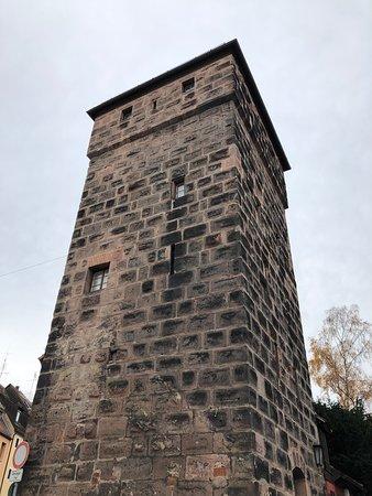 Turmdersinne - medieval tower in Nuremburg
