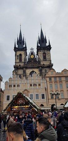 Prague, Czech Republic: Church of Our Lady before Týn