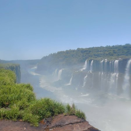 Cataratas del Iguazú - lado brasileño con boleto: Vista dos saltos argentinos