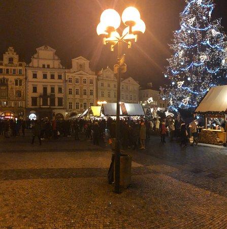 Christmas market Prague.