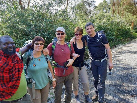 Lushoto, Tanzanie: Before the hiking
