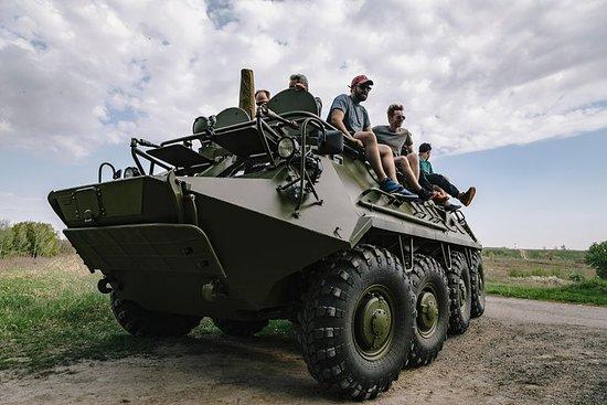 Fahren BTR-80 + Gun Shooting...