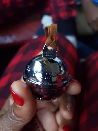 Shokan, NY: They gave each person a silver bell!