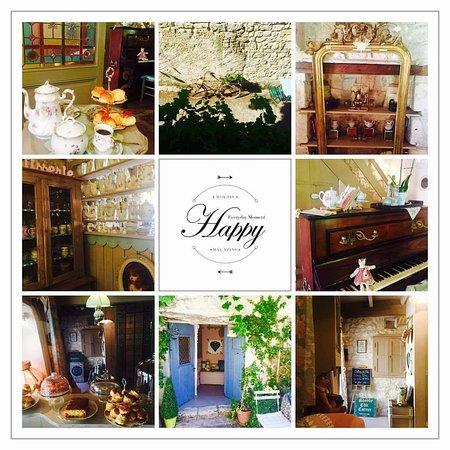 Salon de thé cozy et convivial