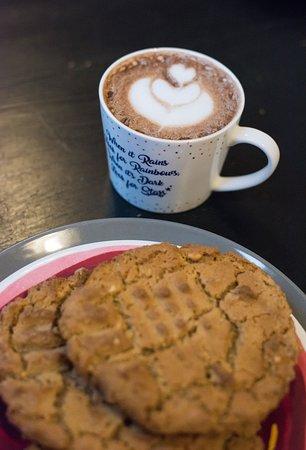Homemade gluten free/dairy free peanut butter cookies