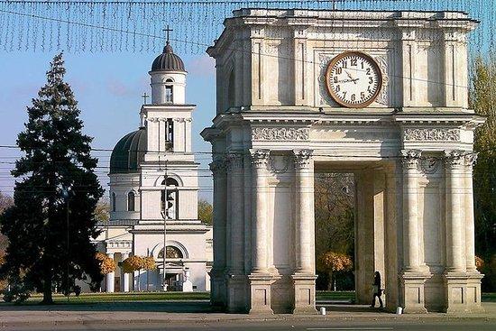 Chisinau Car City Tour und Cricova...