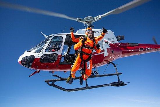 Helikopterskyting i Interlaken