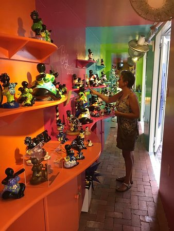 Come to our Chichi Shop Punda, we have the authentic Chichi and Bubu in our store to decorate your home in a Dutch Caribbean ambiance.  Visit our website: chichi-curacao.com