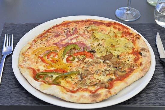 Pizza 4 saisons faite maison